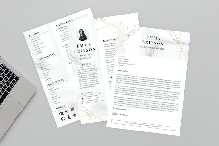 Thumbnail for Tall Resume Designer