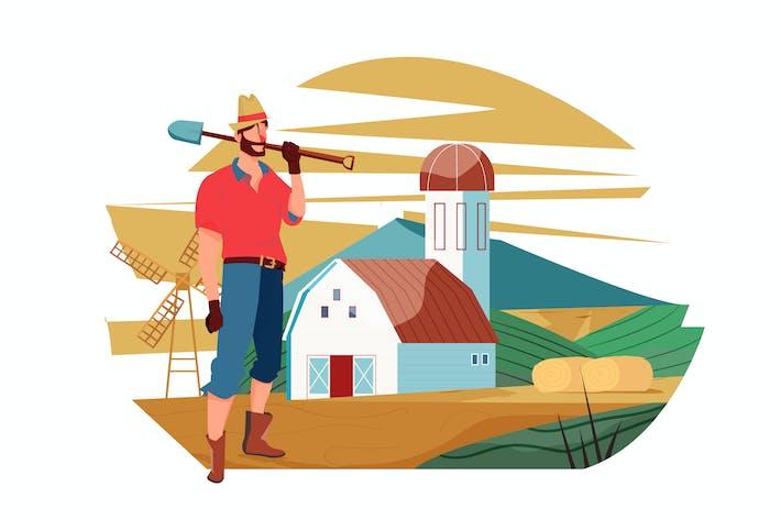 Farming-Illustration