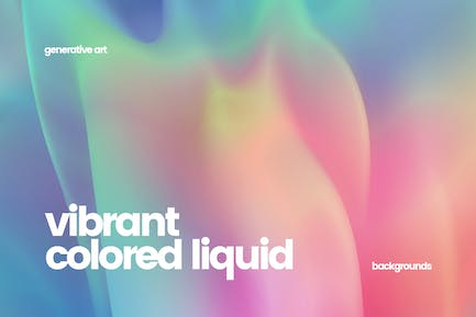 Iridescent Holographic Backgrounds
