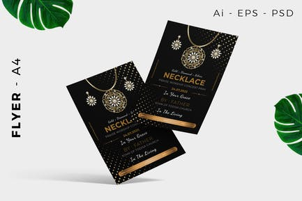 Jewelry Flyer Design