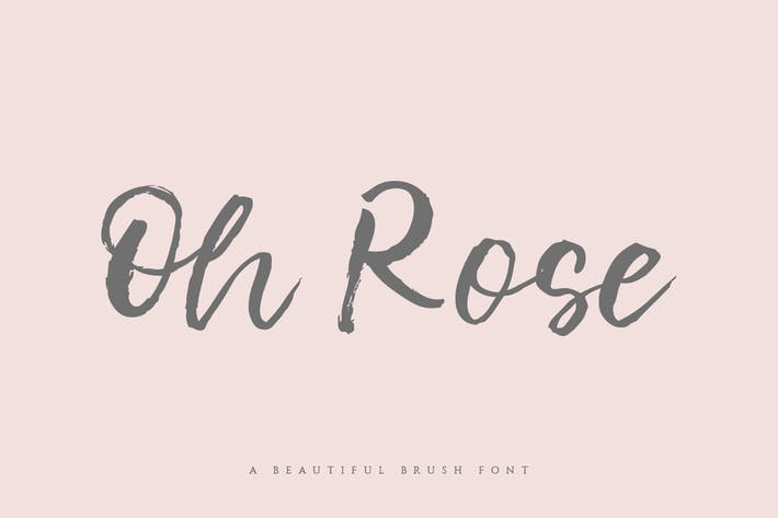 Fuente Oh Rose