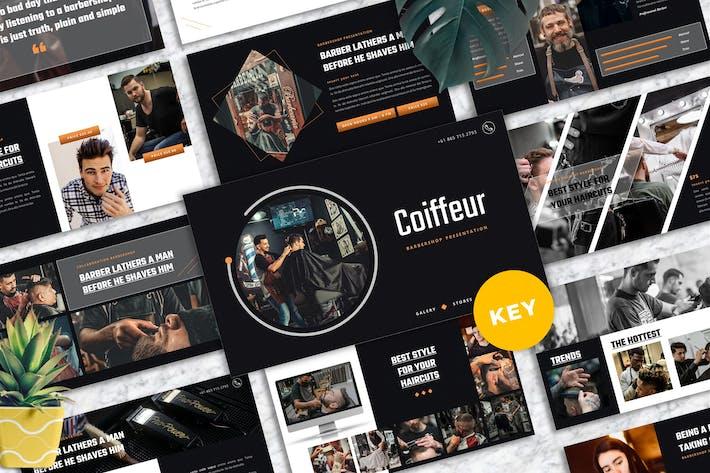 Coiffeur - Barbershop Keynote Templates