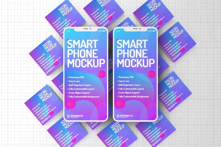 Thumbnail for Digitale Medien Kreativ — Mockup Vorlage