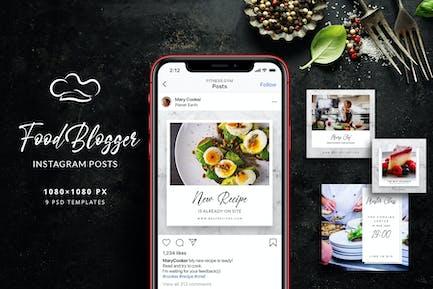 Food Blogger - Instagram Beiträge