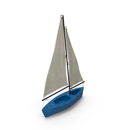 Spielzeug Segelboot