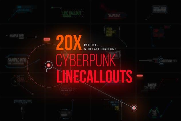 Cyberpunk Line Callouts