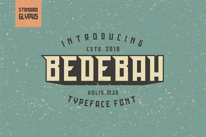 Thumbnail for Bedebah Tipo de letra