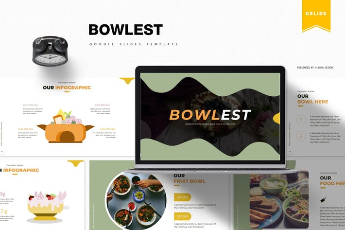 Thumbnail for Bowlest | Google Slides Template