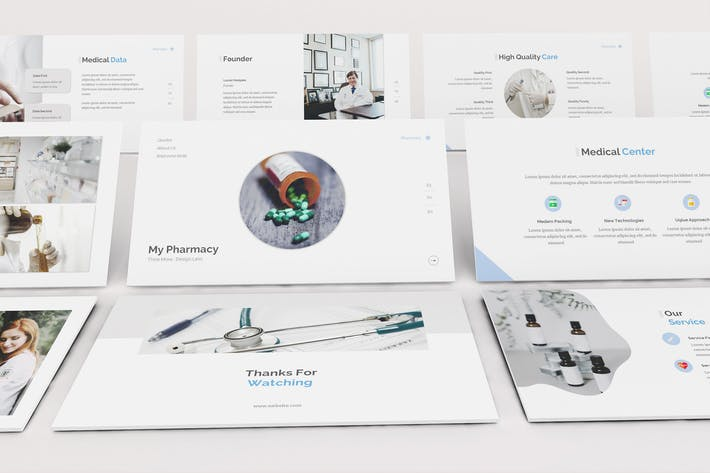 Pharmacy Google Slides Template