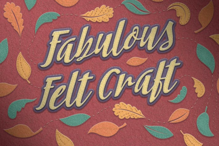 Thumbnail for Felt Craft - Stitches Styles & More