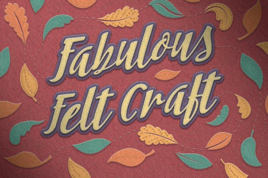 Fieltro Craft - Estilos de puntadas y más