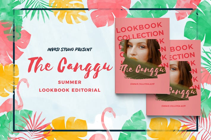 Thumbnail for CANGGU-Fashion Lookbook Magazine