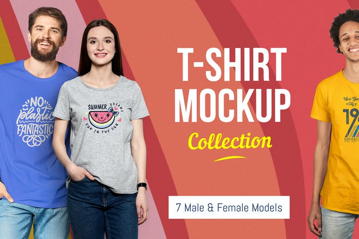 Thumbnail for T-Shirt Mockup Collection 2.0