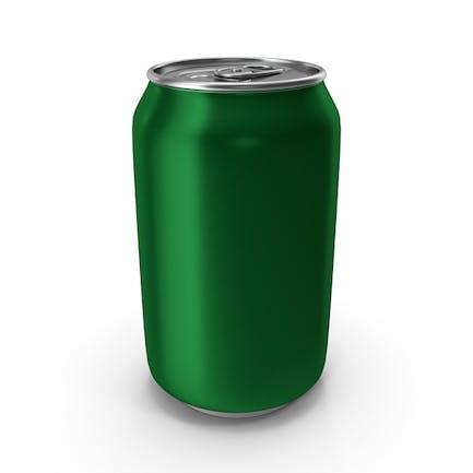 Aluminum Can 330ml Green