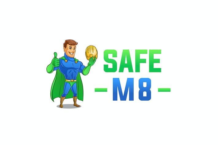 Thumbnail for Safe M8 Logo