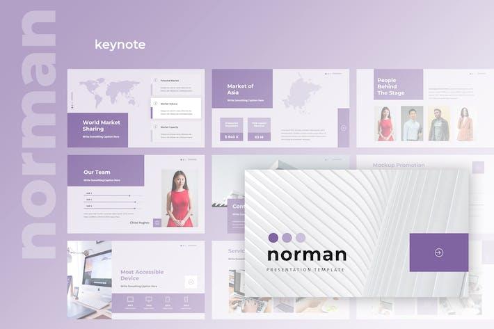 Thumbnail for Norman - Business Keynote Presentation