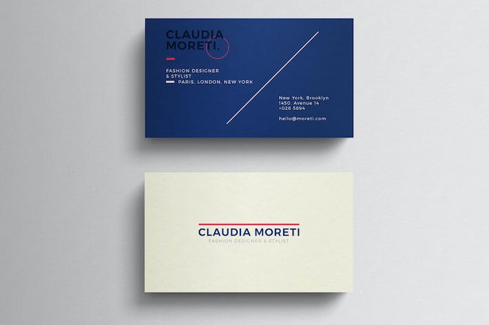 Thumbnail for Simple Clean Business Card Template