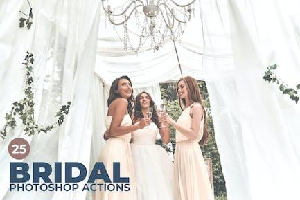 25 Bridal Photoshop Actions