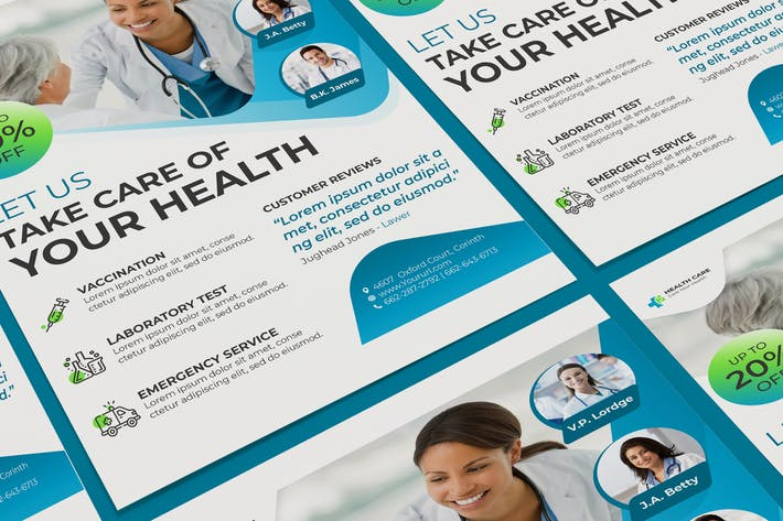 Thumbnail for Affiche médicale