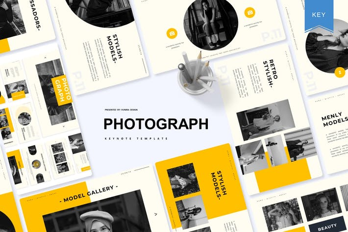 Thumbnail for Photograph | Keynote Template