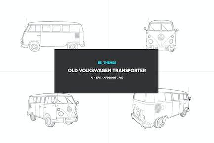 Alter Volkswagen Transporter