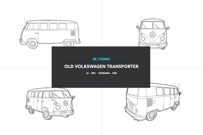 Thumbnail for Old Volkswagen Transporter