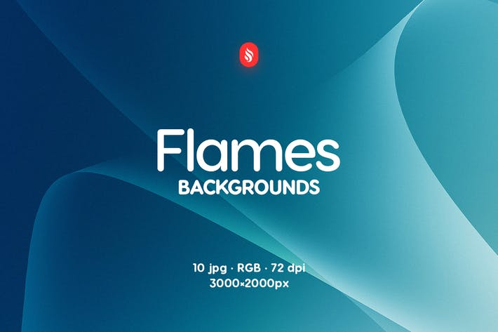 Thumbnail for Abstract Flames Backgrounds