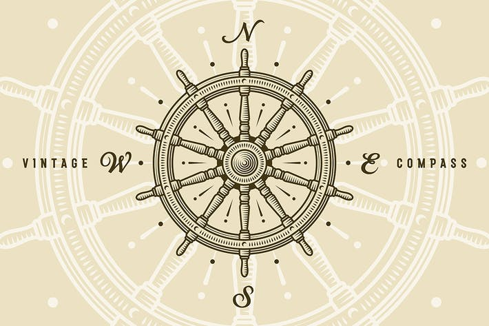 Thumbnail for Vintage Ship Wheel