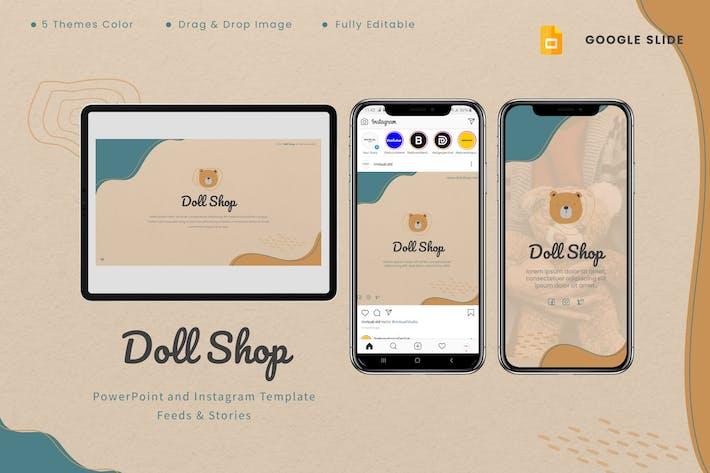 Doll Shop - Google Slides & Instagram Template