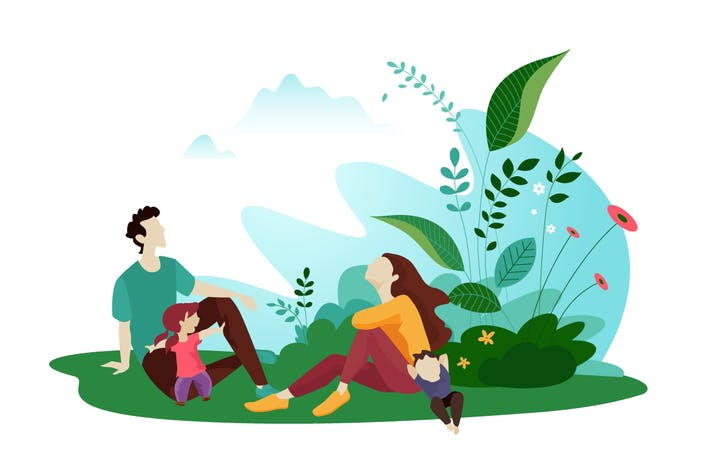 Thumbnail for Nature vector illustration