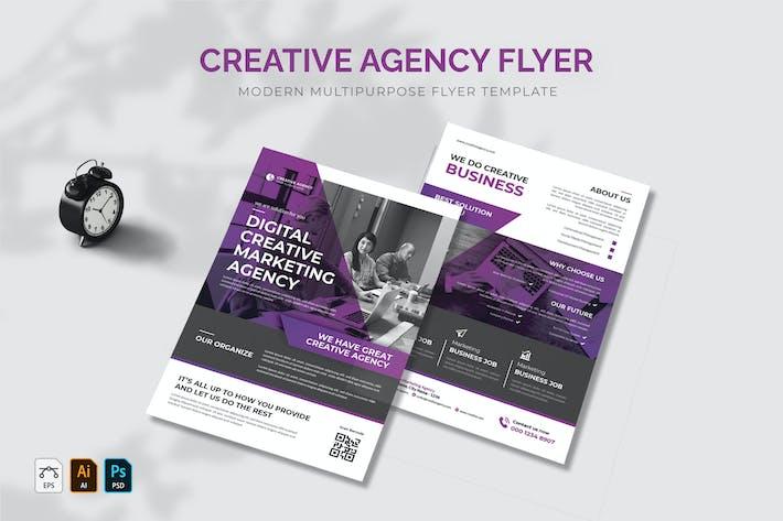 Thumbnail for Agence Créative dépliant