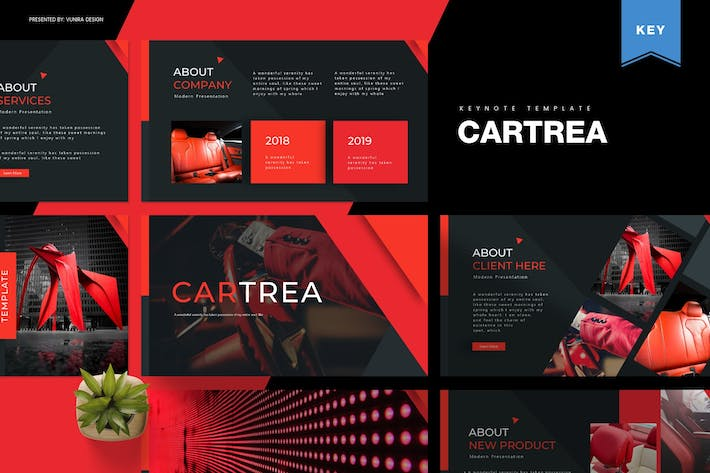 Thumbnail for Cartrea | Keynote Template