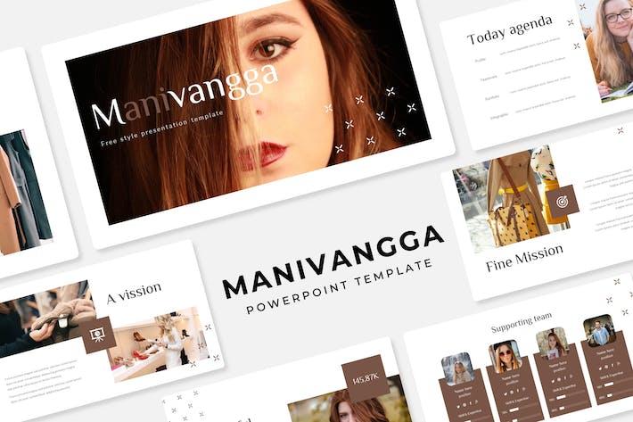Thumbnail for Маниванга - Шаблон PowerPoint