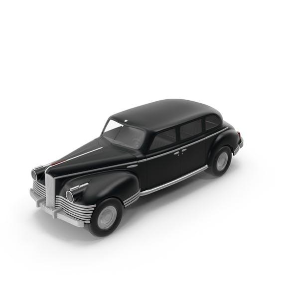 Ретро игрушечный автомобиль