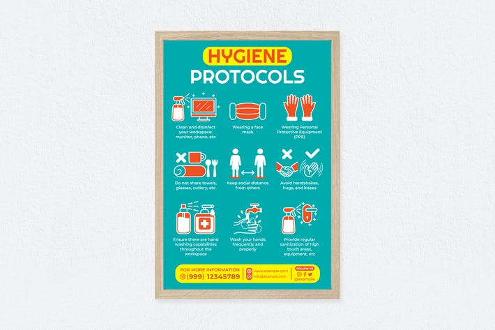 Thumbnail for Hygiene Protocols Poster