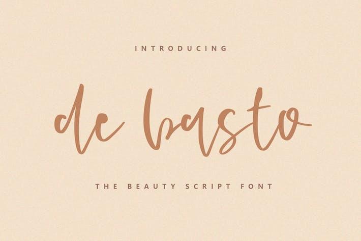 Thumbnail for De Basto - A Beauty Script Font