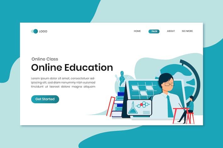Thumbnail for Online-Bildungs-Zielseite