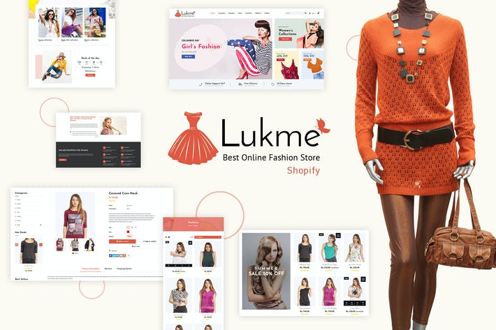 Thumbnail for Lukme | Sectioned Fashion Shopify Theme