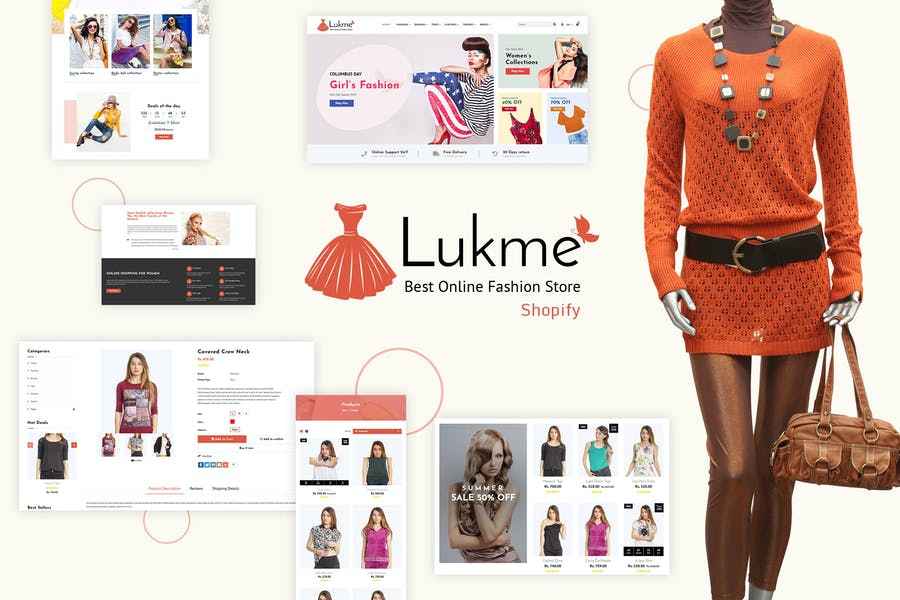 Lukme | Sectioned Fashion Shopify Theme