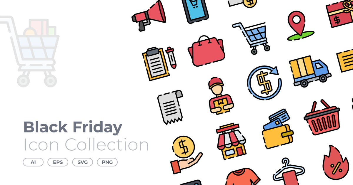Download Black Friday Filled Icon by GoodWare_Std