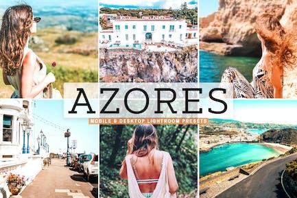 Azores Mobile & Desktop Lightroom Presets