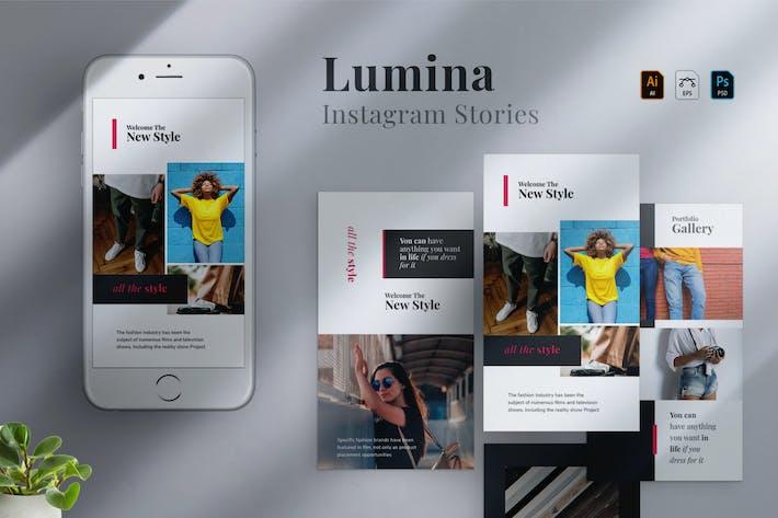 Thumbnail for Lumina - Instagram stories Template 10