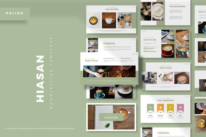 Cover Image For Hiasan - Google Slides Template