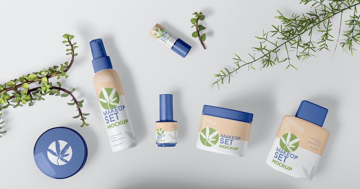 Download Cosmetic Branding Mockups by zippypixels