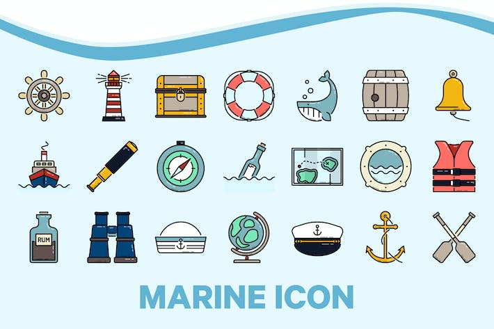Marine Nautical Icon