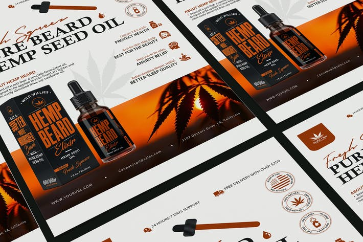Cover Image For Hemp Product Poster