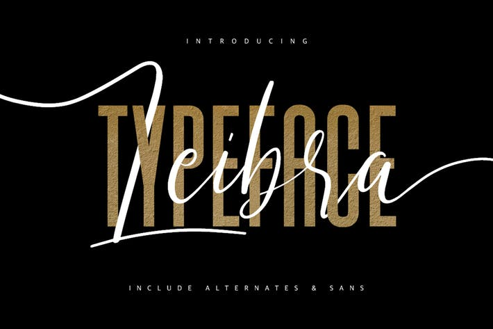 Thumbnail for Leibra Typeface