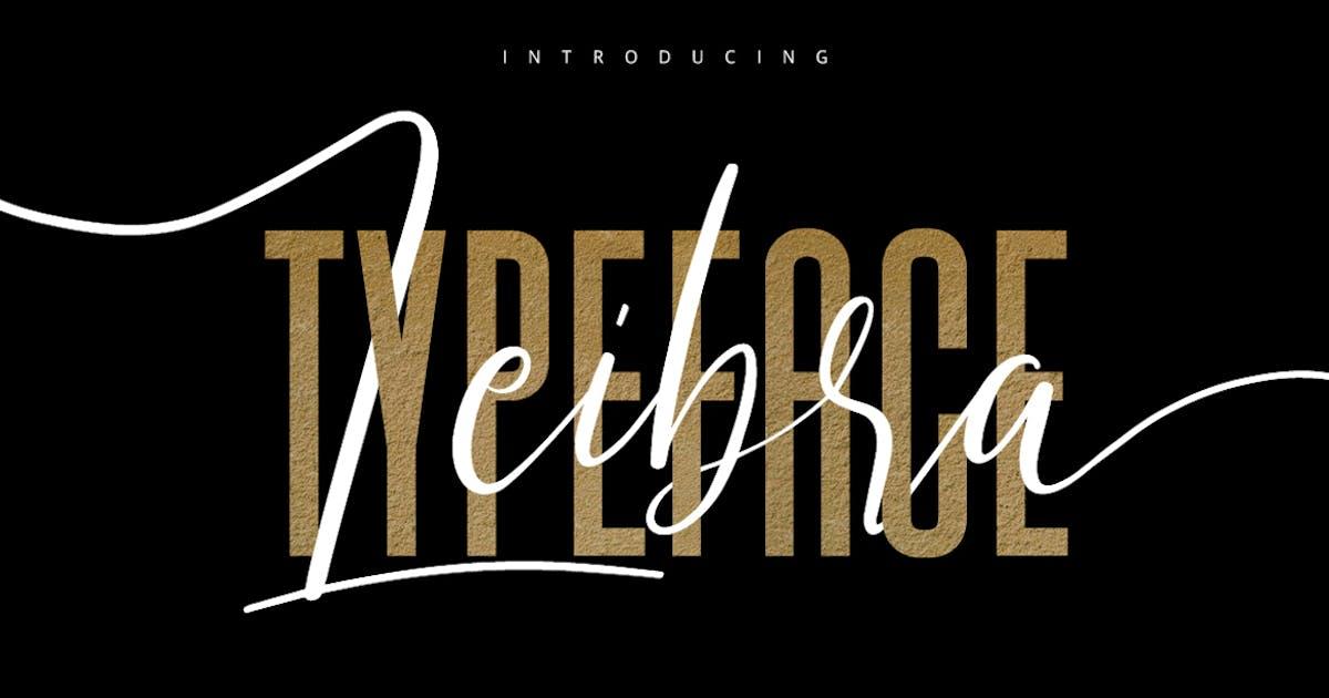 Download Leibra Typeface by maulanacreative