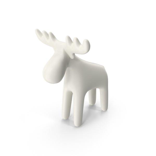 Thumbnail for Porcelain Reindeer