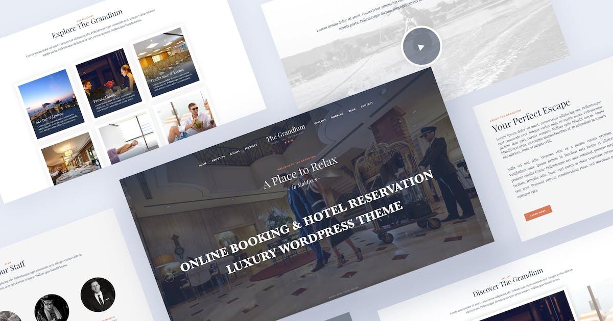 Download Luxury Hotel Travel WordPress Theme - Grandium by Ninetheme